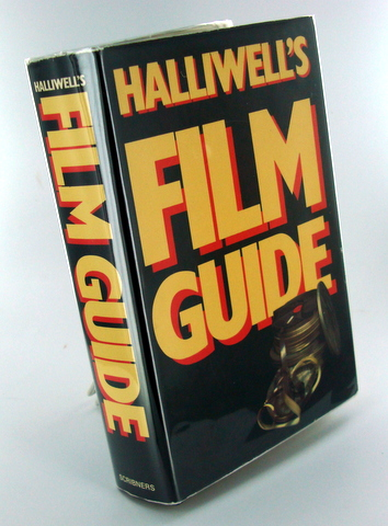 (Movies) HALLIWELL'S FILM GUIDE; A Survey of 8000 English-Language Movies. Leslie HALLIWELL.