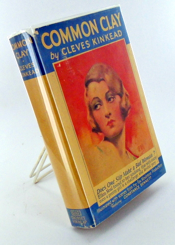 (Photoplay Edition) COMMON CLAY. Cleves KINKEAD, D. TORBETT, Playwright, Novelization.