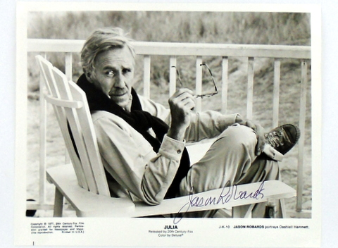 "(Dashiell Hammett) ORIGINAL Movie Still Photograph: ""JULIA"" Jason Jr ROBARDS."