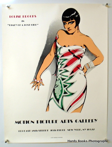 "ORIGINAL POSTER: ""DIARY OF A LOST GIRL""; Motion Picture Arts Gallery. Louise BROOKS."