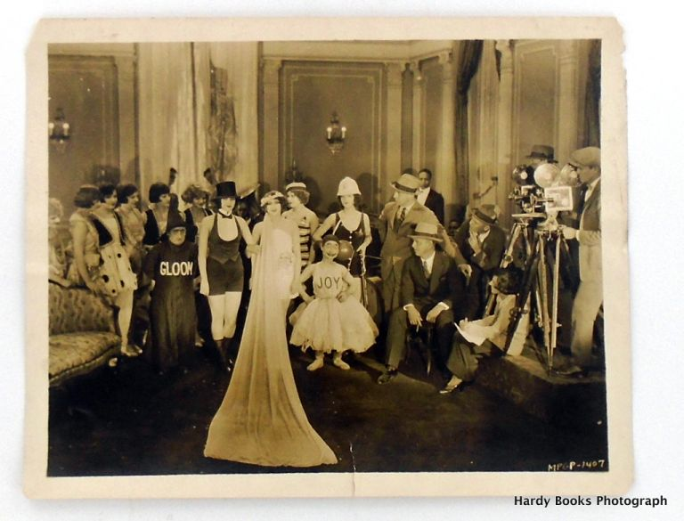 """ORIGINAL PHOTOGRAPH: """"THE UNINVITED GUEST"""" Gay Party. Maurice """"Lefty"""" FLYNN, Jean TOLLEY, Mary MacLAREN."""