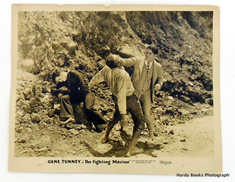 "ORIGINAL MOVIE STILL PHOTOGRAPH: ""THE FIGHTING MARINE"" Gene TUNNEY."