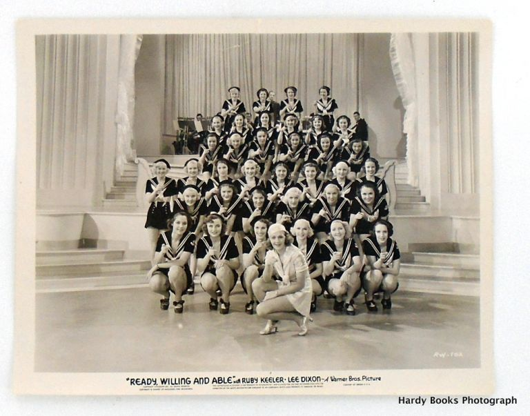 "ORIGINAL MOVIE STILL PHOTOGRAPH: ""READY, WILLING AND ABLE"" (1937). Ruby KEELER."