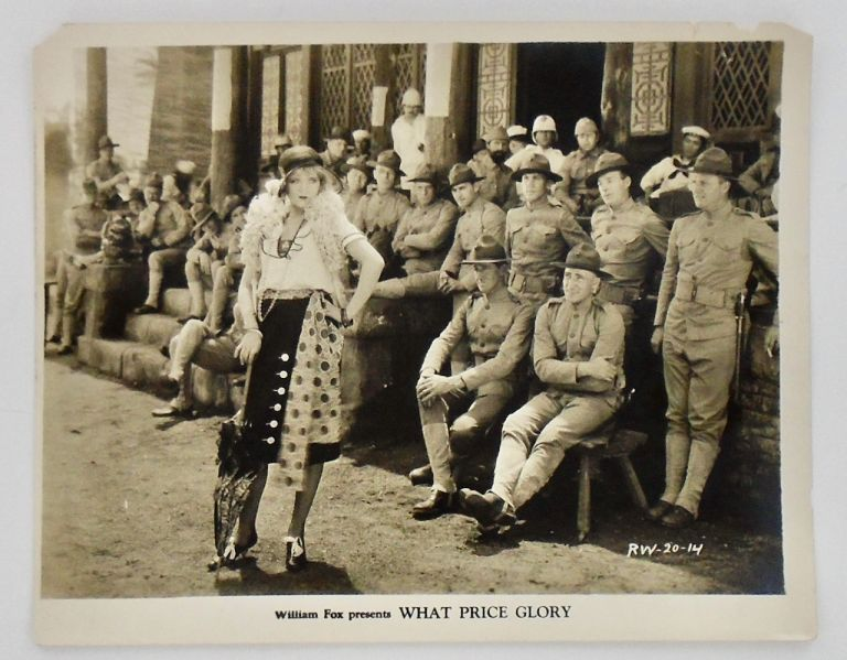 """THREE (3) ORIGINAL MOVIE STILL PHOTOGRAPHS: """"WHAT PRICE GLORY"""" (1926) MARINE CORPS. Laurence STALLINGS, Maxwell ANDERSON."""