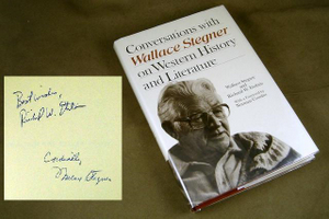 CONVERSATIONS WITH WALLACE STEGNER ON WESTERN HISTORY AND LITERATURE. Wallace STEGNER, Richard ETULAIN.