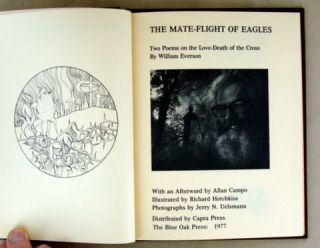 THE MATE-FLIGHT OF EAGLES; Two Poems on the Love-Death of the Cross
