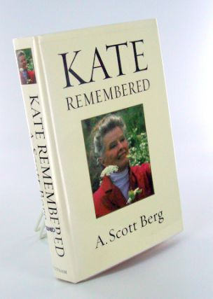 KATE REMEMBERED. Movies, A. Scott BERG.