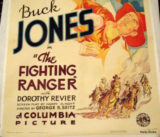 "ORIGINAL MOVIE POSTER: ""THE FIGHTING RANGER"""