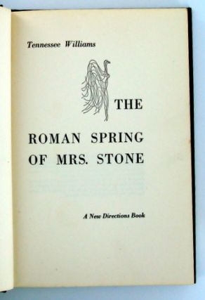 (Books To Film) THE ROMAN SPRING OF MRS. STONE