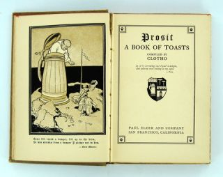 PROSIT. A BOOK OF TOASTS