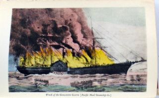 GOLD RUSH STEAMERS (OF THE PACIFIC)