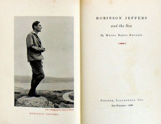 ROBINSON JEFFERS AND THE SEA