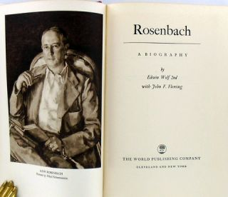 ROSENBACH; A Biography