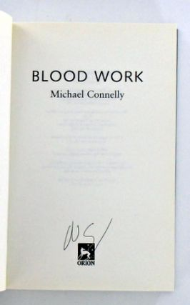 (Books To Film) BLOOD WORK