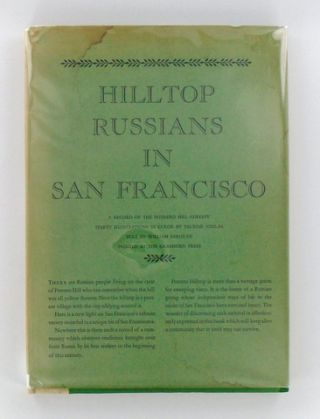(Grabhorn Press) HILLTOP RUSSIANS IN SAN FRANCISCO