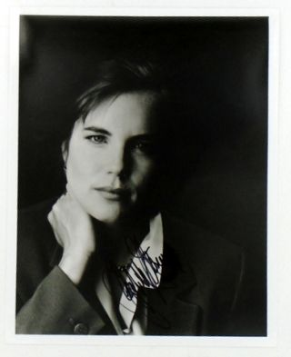ORIGINAL SIGNED PHOTOGRAPH. Elizabeth McGOVERN
