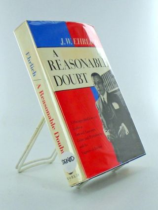 A REASONABLE DOUBT. J. W. EHRLICH, Jake.