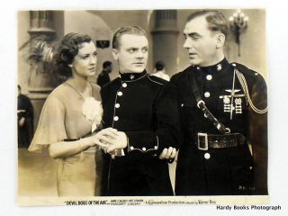 "ORIGINAL PHOTOGRAPH: ""DEVIL DOGS OF THE AIR"" James CAGNEY, Pat O'BRIEN, Margaret LINDSAY"