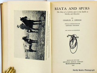 RIATA AND SPURS; The Story of a Lifetime Spent in the Saddle as Cowboy and Detective