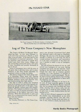 THE TEXACO STAR MAY 1928 / VOLUME XV, NO.5
