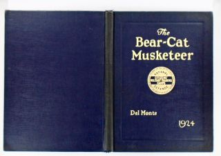 THE BEAR-CAT MUSKETEER. 1924