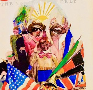 """ORIGINAL 1933 COLLIER'S COVER: """"WHAT ROOSEVELT INTENDS TO DO"""""""