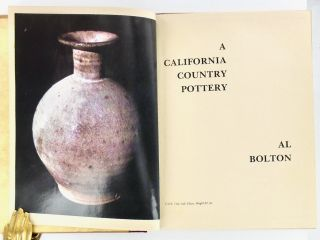 A CALIFORNIA COUNTRY POTTERY