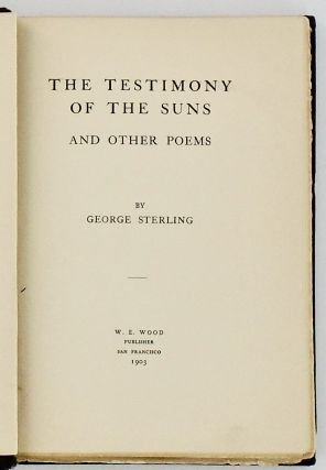 THE TESTIMONY OF THE SUNS AND OTHER POEMS