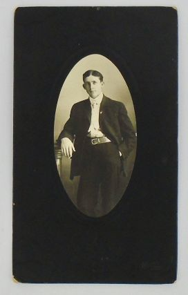 PHOTOGRAPH: YOUNG MAN OF THE GOLD COUNTRY. CIRCA 1900. MOORE, Photographer