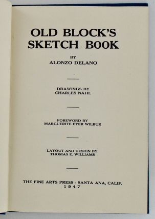 OLD BLOCK'S SKETCH BOOK