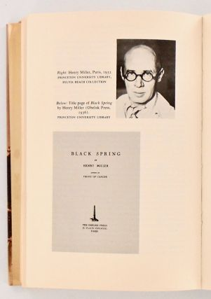 PUBLISHED IN PARIS. AMERICAN AND BRITISH WRITERS, PRINTERS, AND PUBLISHERS IN PARIS, 1920-1939