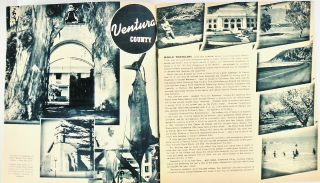 """1941 BOOKLET: """"CALIFORNIA'S MISSION TRAILS. TO SAN FRANCISCO THROUGH THE SCENIC COASTAL PLAYGROUND"""""""