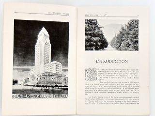 """1926 ORIGINAL """"LOS ANGELES CALIFORNIA TODAY - CITY AND COUNTY"""" BOOKLET. ILLUSTRATED"""