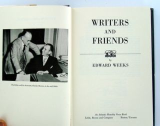 WRITERS AND FRIENDS